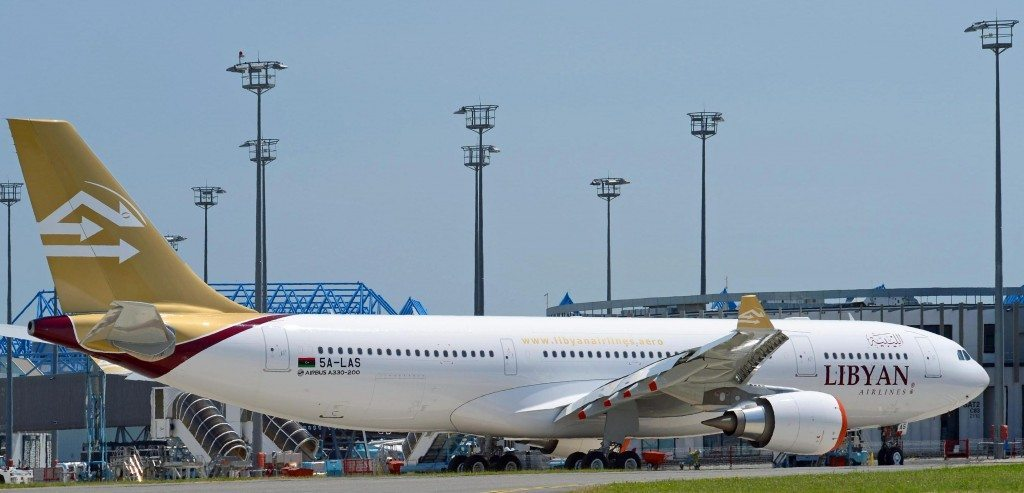 A330-200, Lybian Airlines