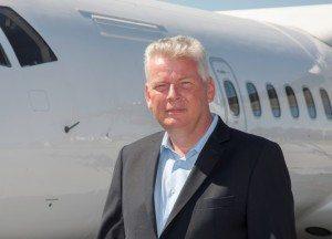 Lufthavnschef Anders Sørensen, Sønderborg.