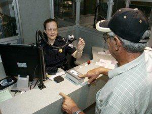 USA paskontrol lufthavn