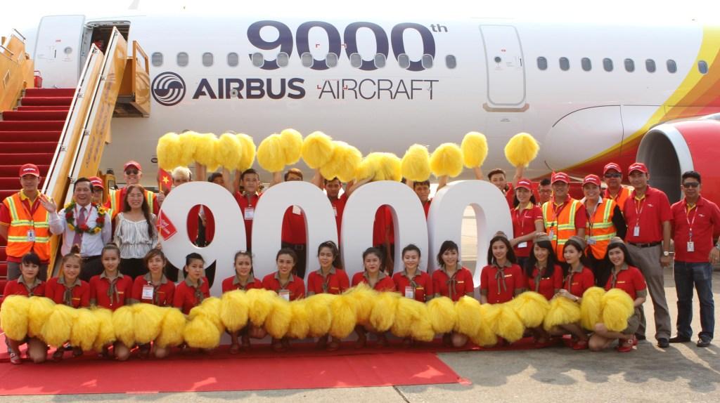Airbus nr. 9.000 VietJetAir