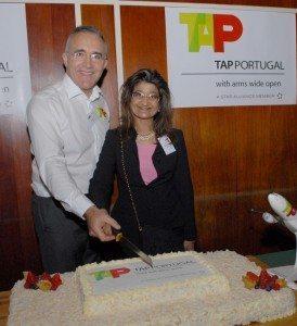 TAP Air Portugal, Joao Morais og Lídia Dias