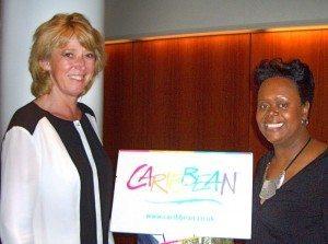 Fra den caribiske workshop denne uge, direktør for GSA-bureauet Atlantic Link, Karin Gert Nielsen, der stod bag sammenkomsten i København, med Carol I. Hay, Director of Marketing Europe for Caribbean Tourism Organization.