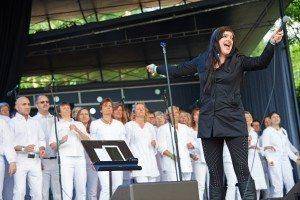 Tivoli Gospel Festival med X Faktor Laura i front