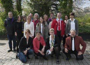Foto fra translokationen på Roskilde Universitet.