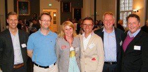 Fra Tyrols workshop i går, fra venstre direktør Peter Jørgensen fra SkiTravel Group, produktchef Ulrik Andersen fra Vitus Rejser, marketingchef Anita Baumgartner fra SkiWelt Wilder Kaiser i Tyrol, adm. direktør