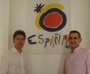 Raúl Castro Cano og Juan Francisco Cervero.