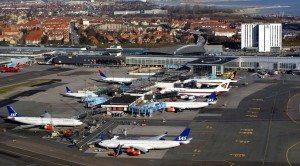 Københavns Lufthavn set fra oven – arkivfoto.