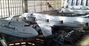 lufthansa fly hangar teknik