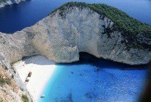Zakynthos i Star Tours drone-perspektiv.
