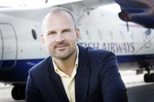 Peter Høgsberg, direktør for Aarhus Lufthavn.