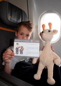 Krammedyret er en vigtig rejseledsager for syvårige Gustav Cebrian på hans rejse til Mexico.