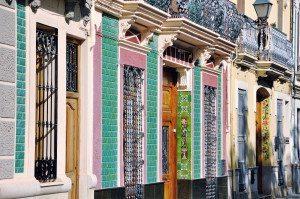 En gade i Valencia.