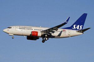 Scandinavian-SAS 737-700 privatair