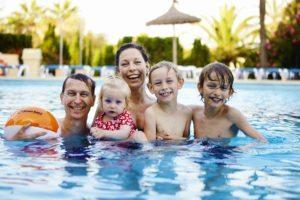 Familie_pool