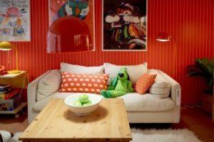 Ikea gennem tiderne. Sirikit sofa og Ingo bord. Foto: Inter IKEA Systems B.V. 2016