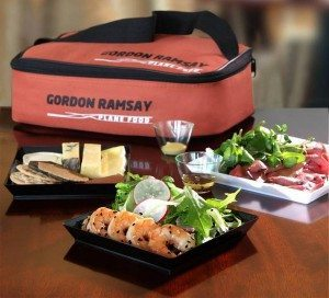 En madpakke fra Gordon Ramsey. (Foto: Heathrow Airports Limited).