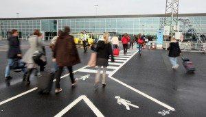 Fra Københavns Lufthavns såkaldte lavprisfacilitet, CPH Go, som udelukkende bruges af easyJet – lufthavnens tredjestørste flyselskab efter SAS og Norwegian.