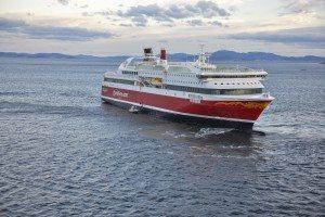 Fjord Lines cruisefærge MS Bergensfjord