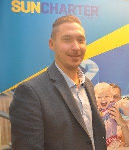 Jesper Dag Nielsen er ansvarlig for SunCharters nye afdeling for gruppe- og golfrejser.