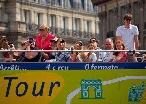 Paris turister