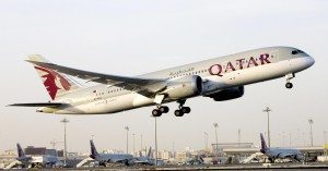Qatar-Airways-Boeing-787-Takes-Off-On-European-Expansion