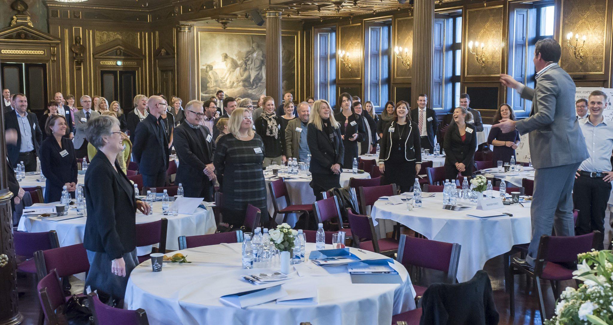 Den danske mødemesse er klar til den store IMEX-kongres i Frankfurt. Arkivfoto fra København.