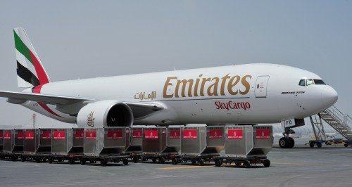 Emirates SkyCargo Boeing 777 F luftfragt