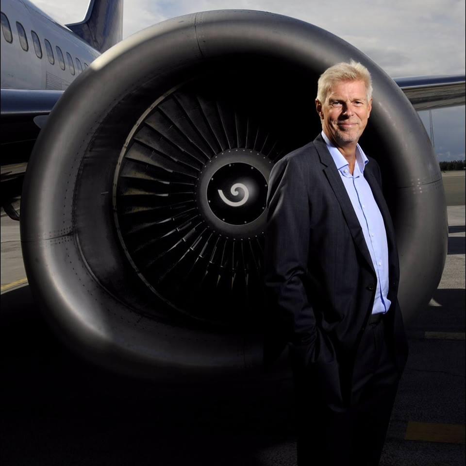 Kjeld Zacho Jørgensen siger efter næsten otte år i spidsen for Billund Lufthavn farvel og tak.