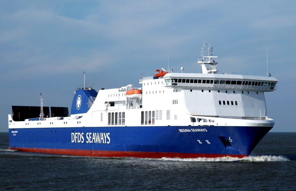 Regina Seaways er et af de to skibe på DFDS-ruten mellem svenske Karlshamn og Klaipeda i Litauen.
