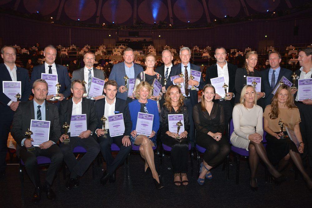 Vinderne af Danish Travel Award 2015.