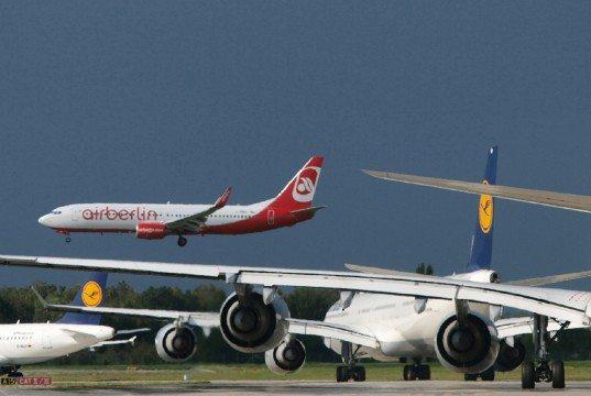 Lufthansa og Easyjet tager hovedparten af Air Berlin