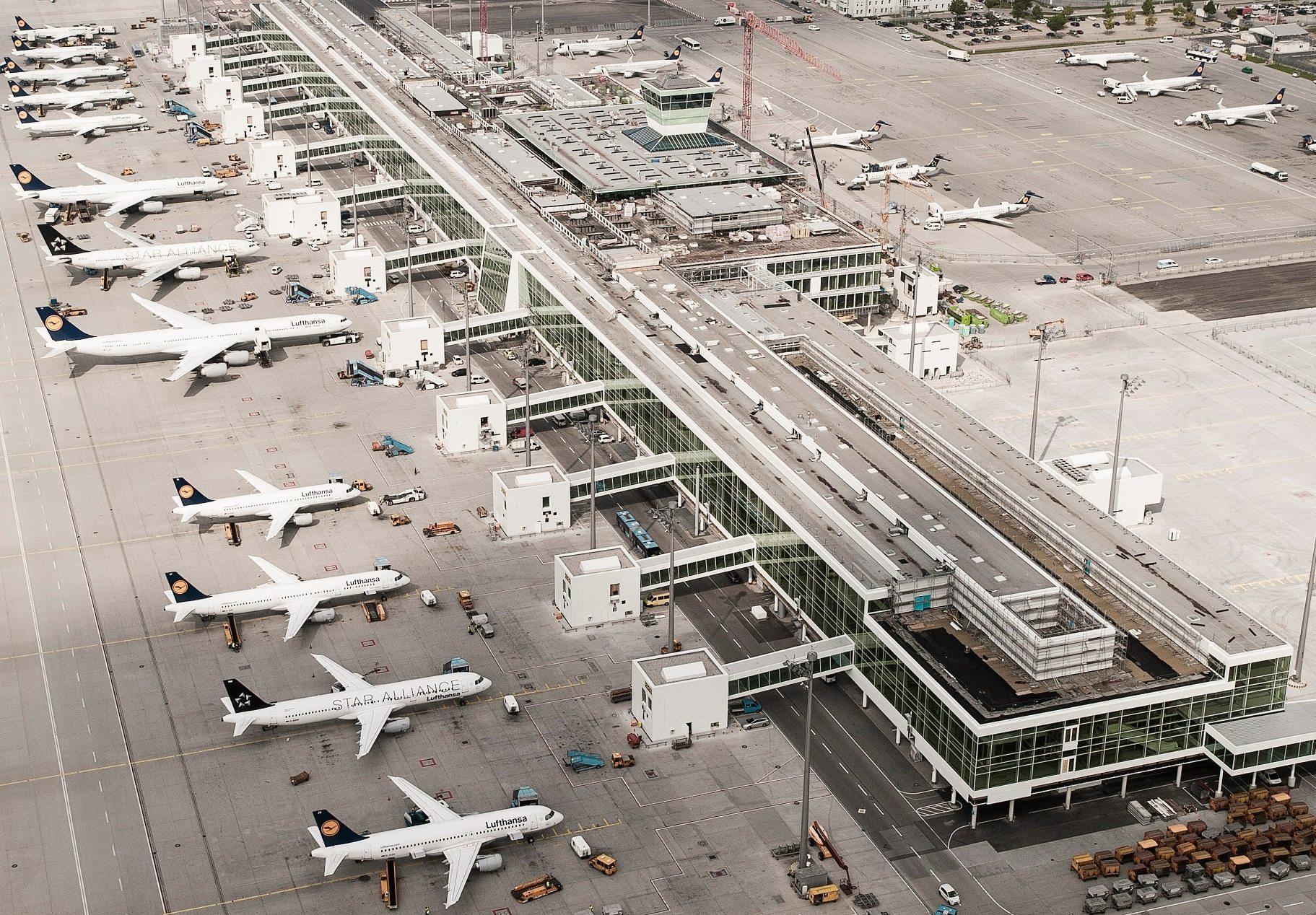 München lufthavn.