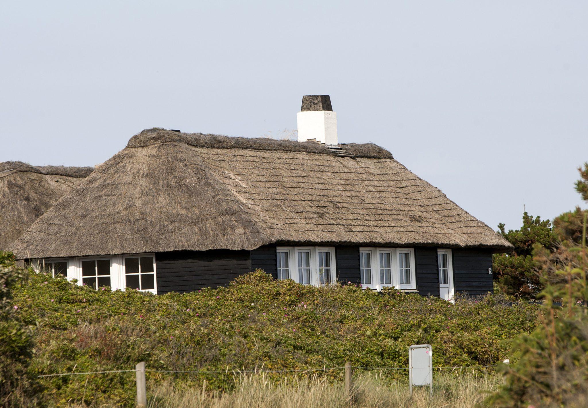 Feriehus ved Vesterhavet. Foto: Varde Kommune.