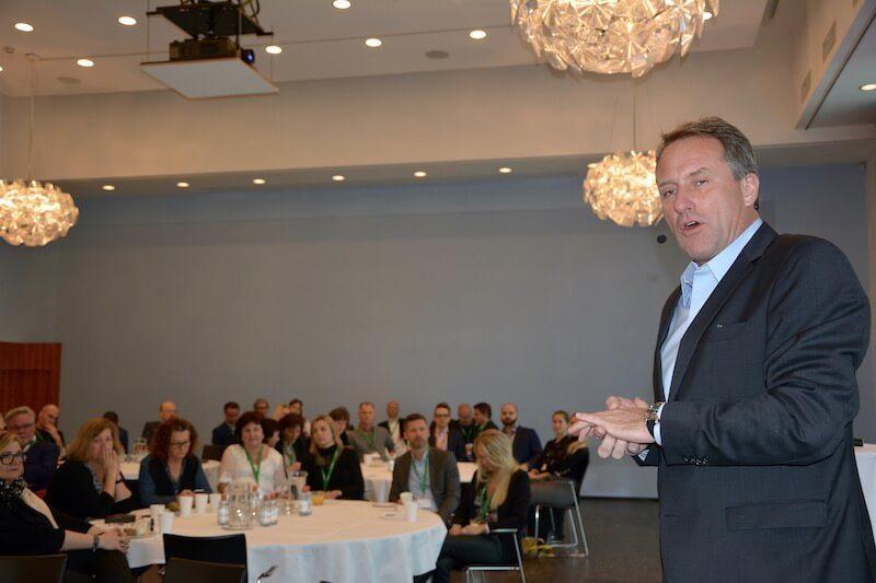 SAS koncerndirektør Lars Sandahl Sørensen