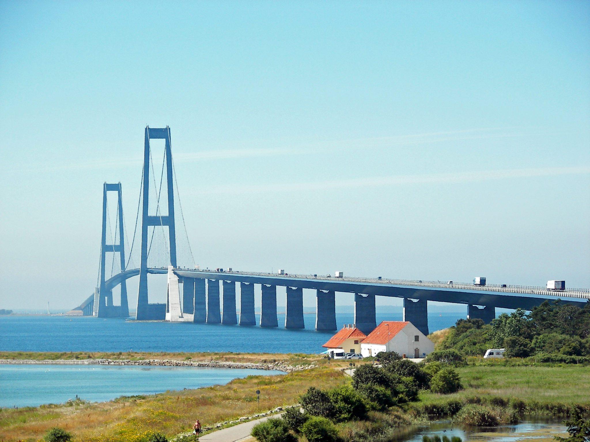 Storebæltsbroen er fredet til Tour de France.
