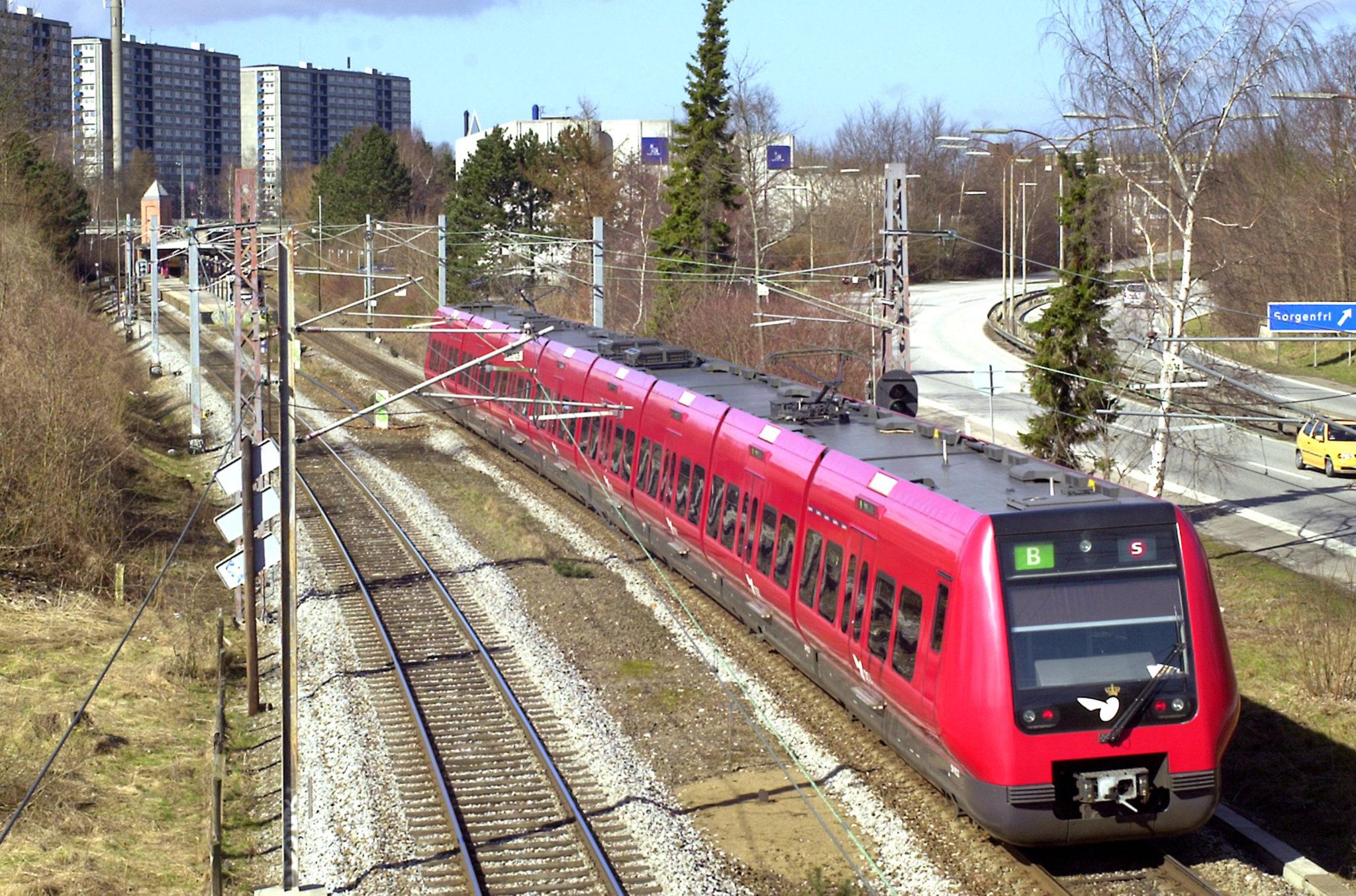 DSB S-tog. 4. generations S-tog ved Sorgenfri. Foto: René Strandbygaard.