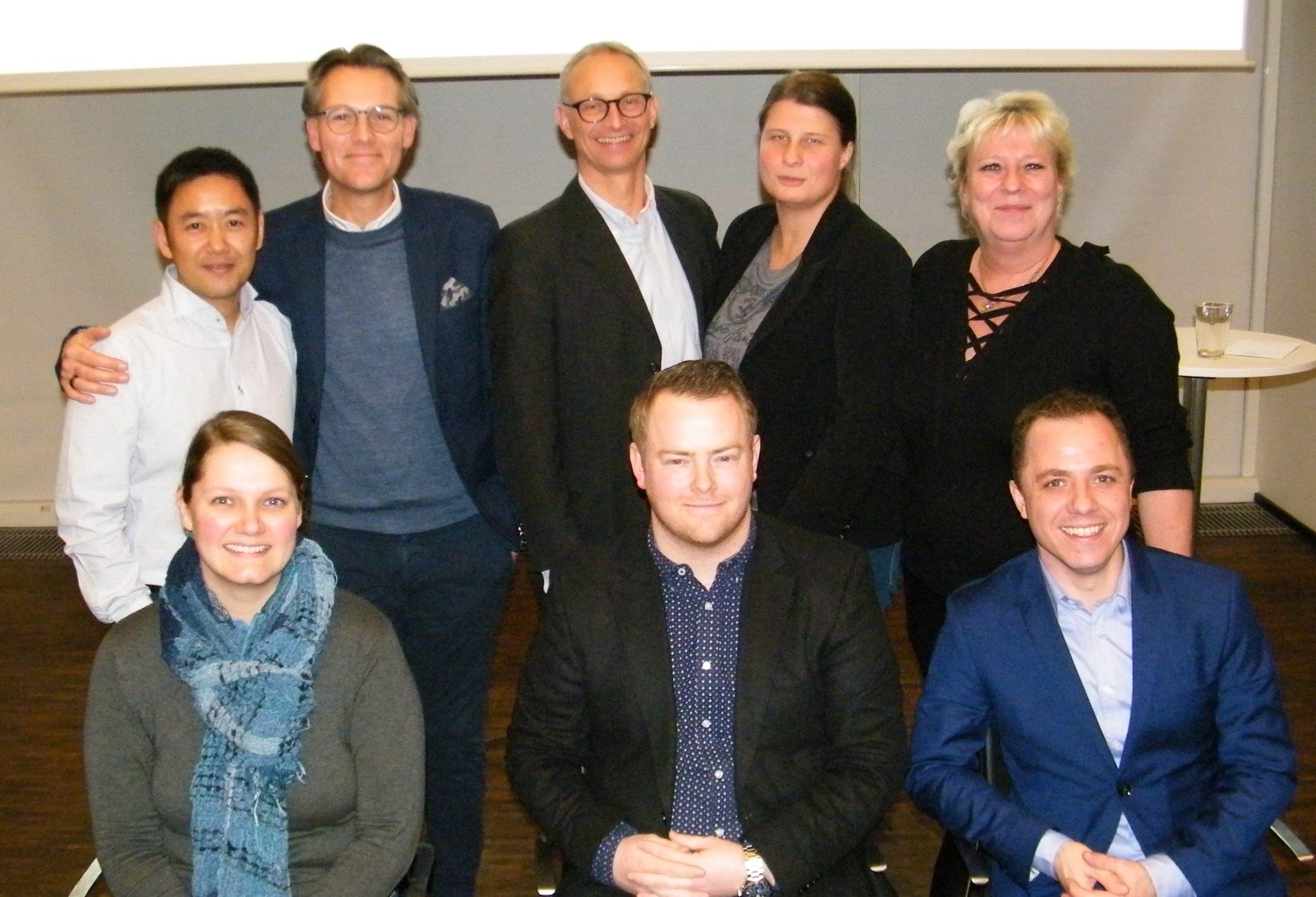 Arkivfoto af hovedparten af PATA-bestyrelsen efter generalforsamlingen sidste år.