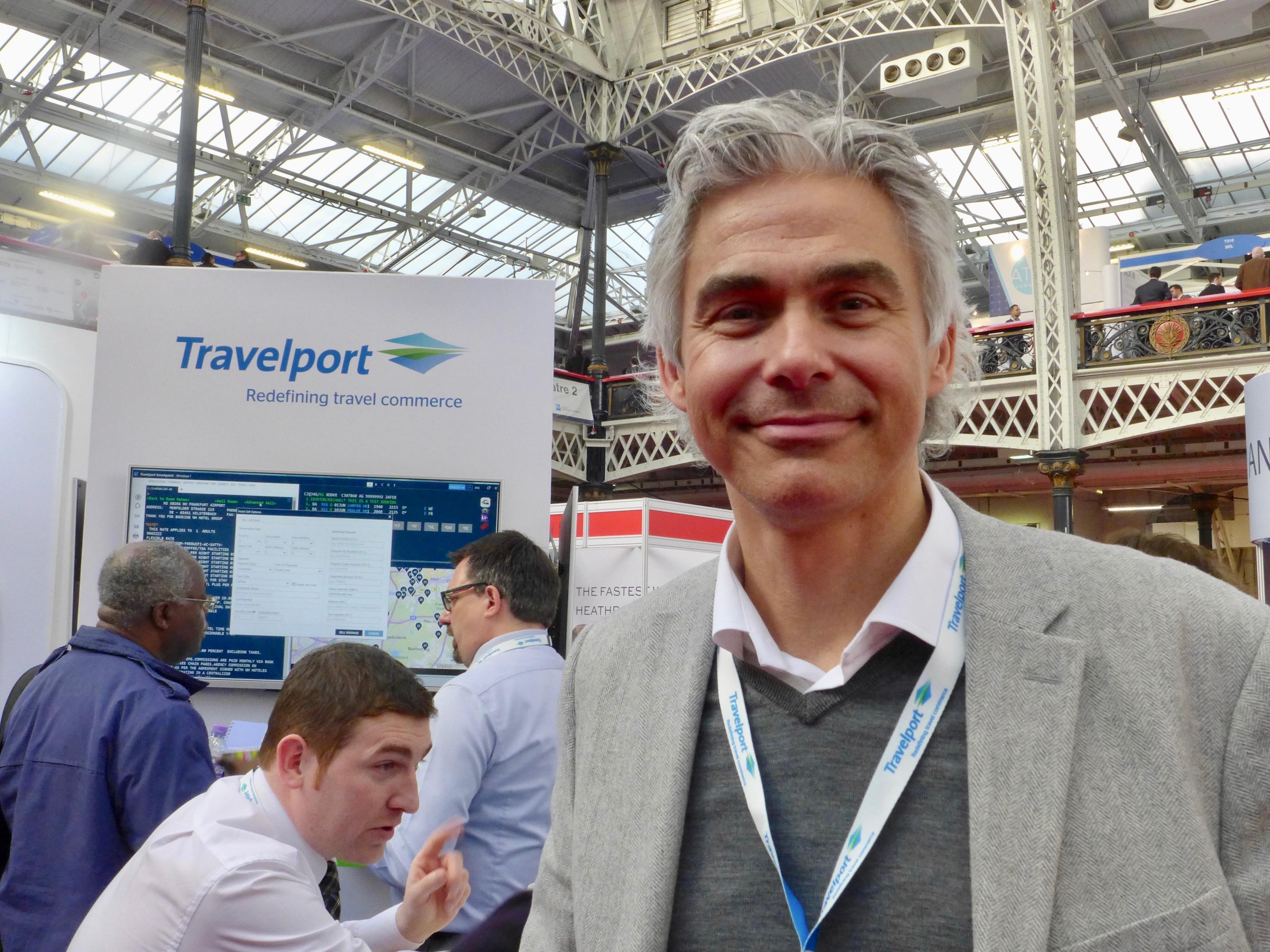 Peter Cramon, nordisk direktør for Travelport, der bl.a. omfatter reservationssystemerne Galileo og Worldspan.