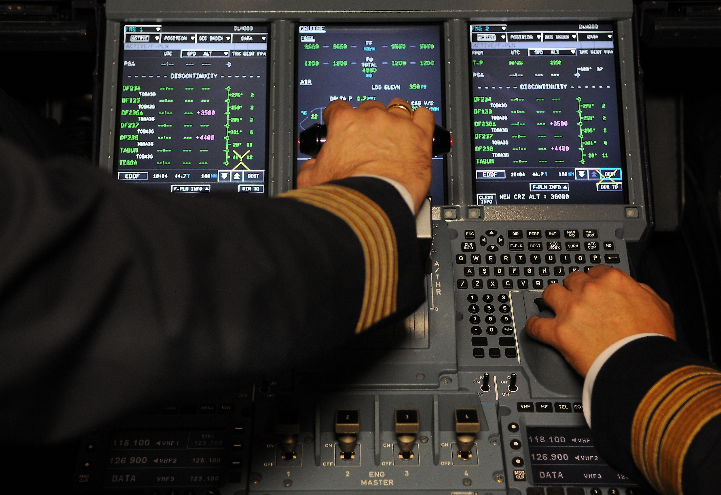 Der var sidste år 965 millioner afrejsende passagerer på rutefly ud af amerikanske lufthavne, heraf fløj 223,4 millioner på udenrigsruter. Arkivfoto: Lufthansa.
