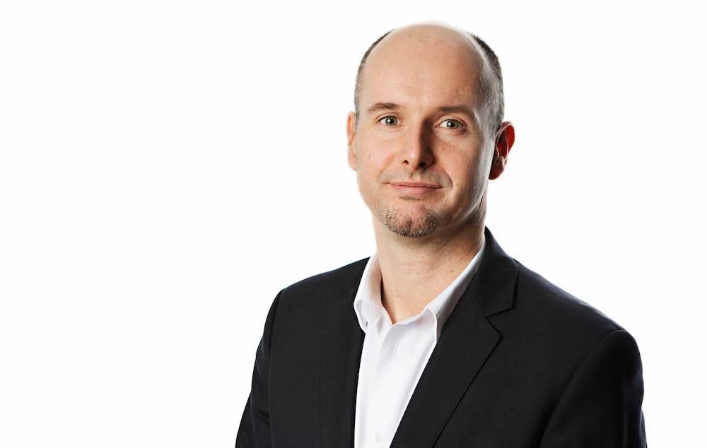 Marketingdirektør Norwegian, Johan Bisgaard Larsen. Foto: Charlotte Sverdrup.