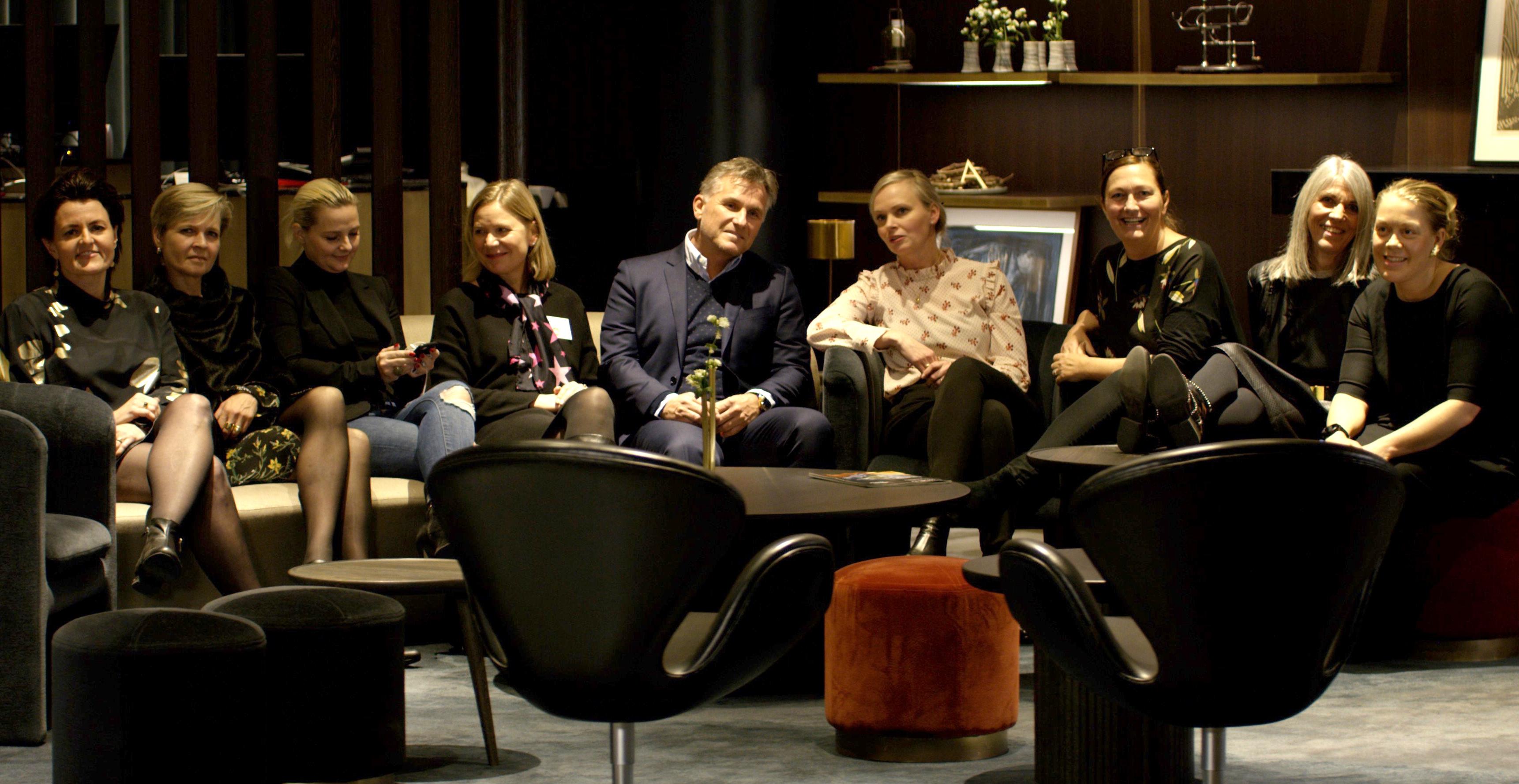 Juryen for Møde & Event Award 2018: Foto: ProSonas.