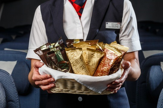 Ny catering med Magnum is hos British Airways. Foto: British Airways.