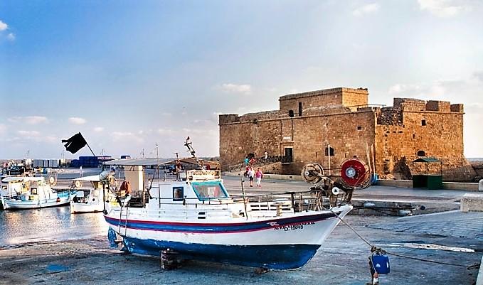 Feriebyen Pafos på Cypern. Foto: VisitCyprus.