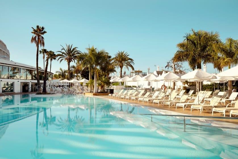 Sunprime Atlantic View på Gran Canaria er et af de hoteller, hvor Spies vil teste tilbuddet om at forhåndsbooke solstole. Hotellet er et voksenhotel med en aldersgrænse på 16 år. Foto: Spies.