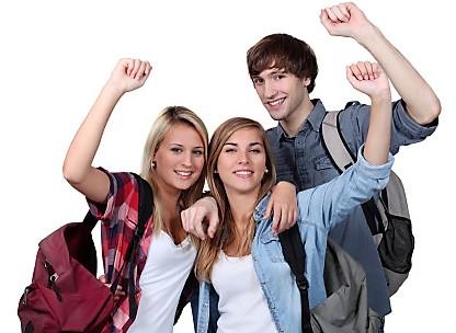 Unge under 18 år skal have forældretilladelse til at rejse i udlandet. Foto: DRF.