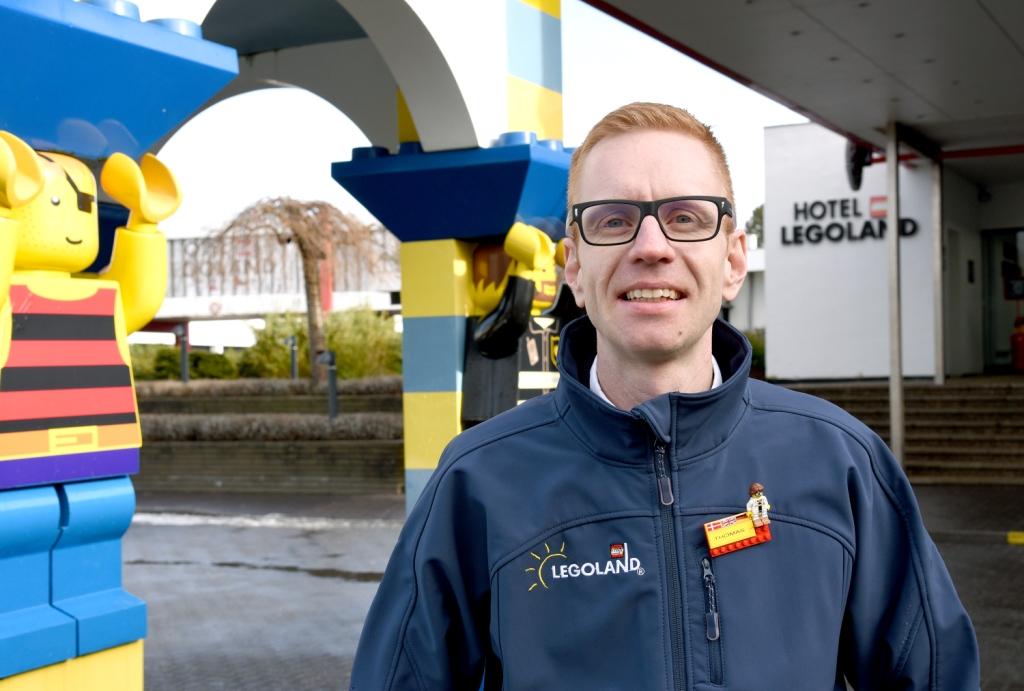 Thomas Buch Tøstesen bliver ny direktør for Hotel Legoland i Billund.