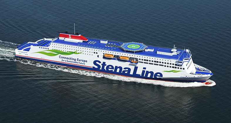 Stena Line RoPax. Foto: Stenaline.