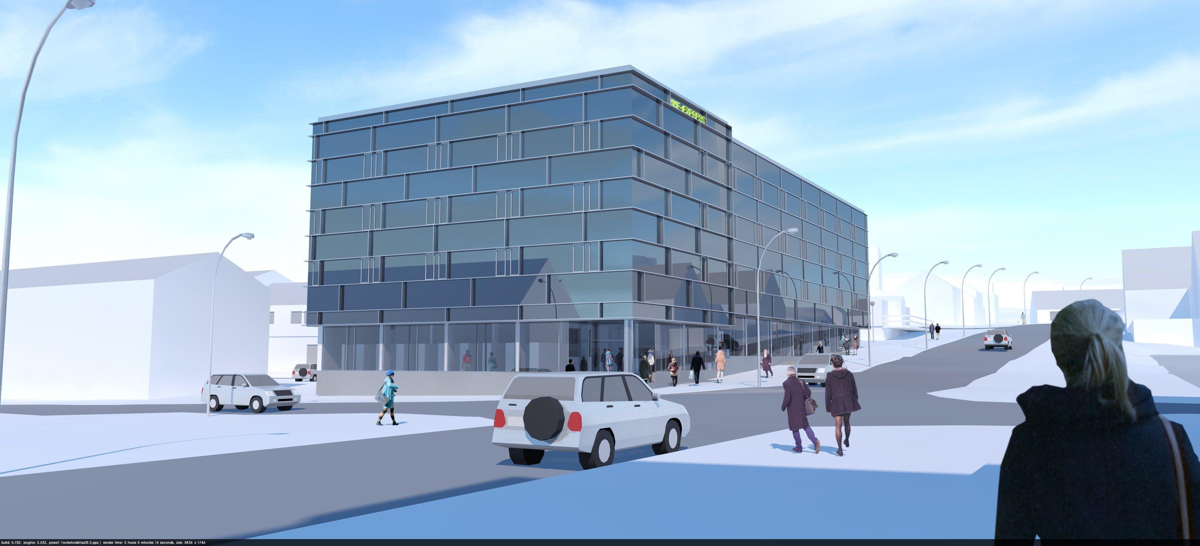 Det nye hotel har hentet inspiration i 'Wake Up'-konceptet. Foto: Polarbo A/S.