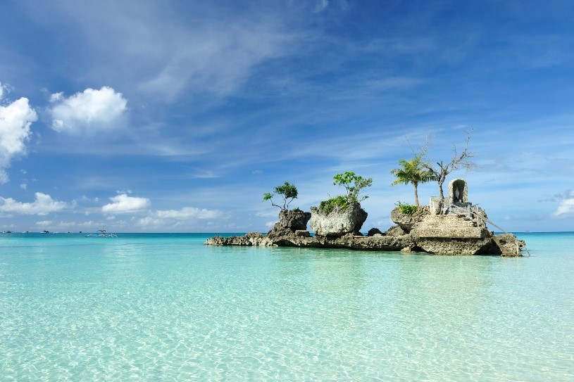 Boracay, Filippinerne. Foto: Singapore Airlines.