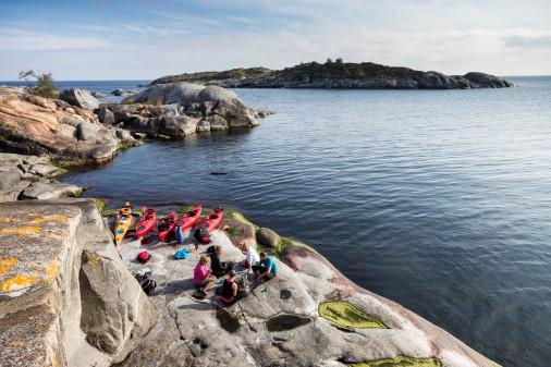 Den svenske naturnære livsstil er et stærkt indslag i Visit Swedens markedsføring. Foto: Henrik Trygg.